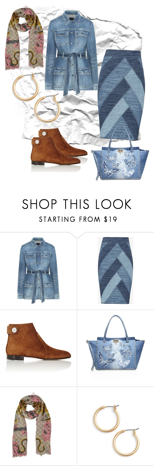 """Untitled #430"" by aweyn ❤ liked on Polyvore featuring Yves Saint Laurent, BCBGMAXAZRIA, Gianvito Rossi, Valentino, Gucci and Nordstrom"