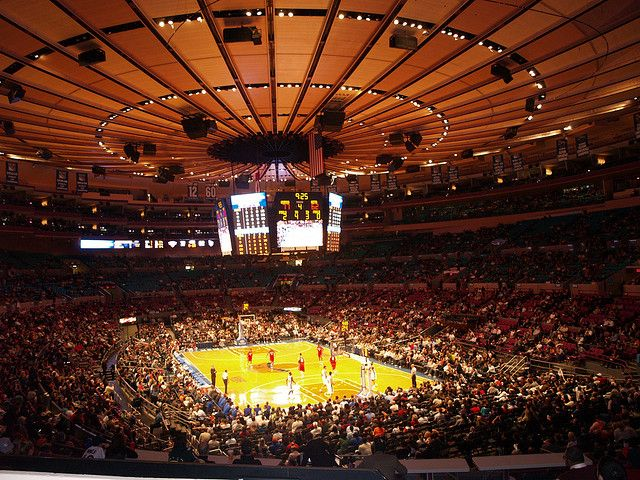 Madison Square Garden In New York   View Sporting Event/concert Here