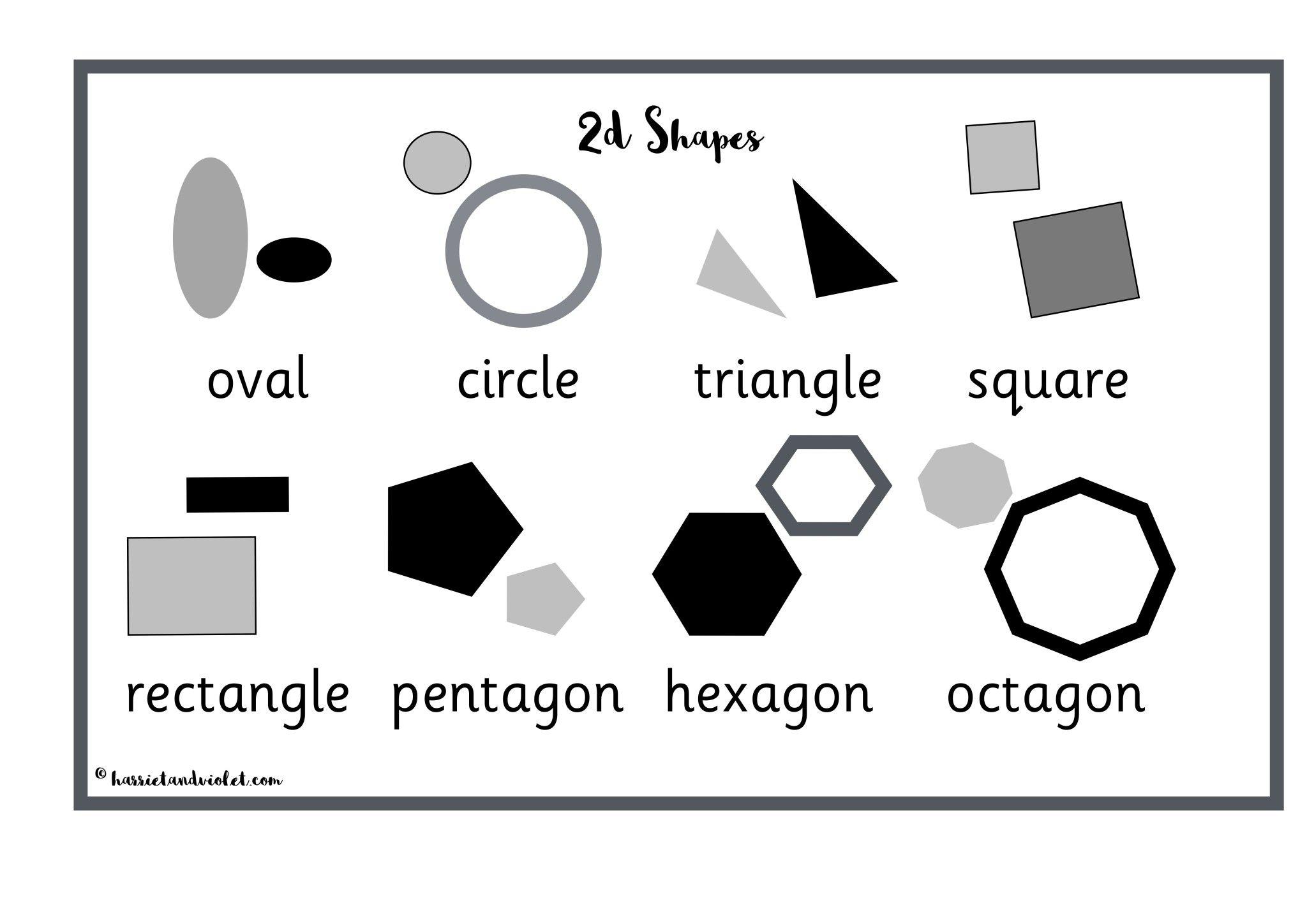 2d Shape Mat