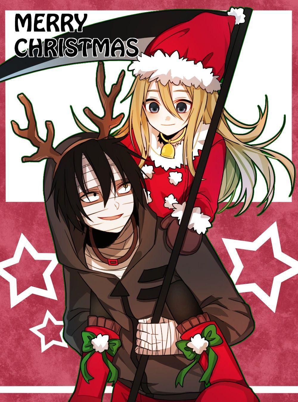 Merry Christmas Anime christmas, Anime angel