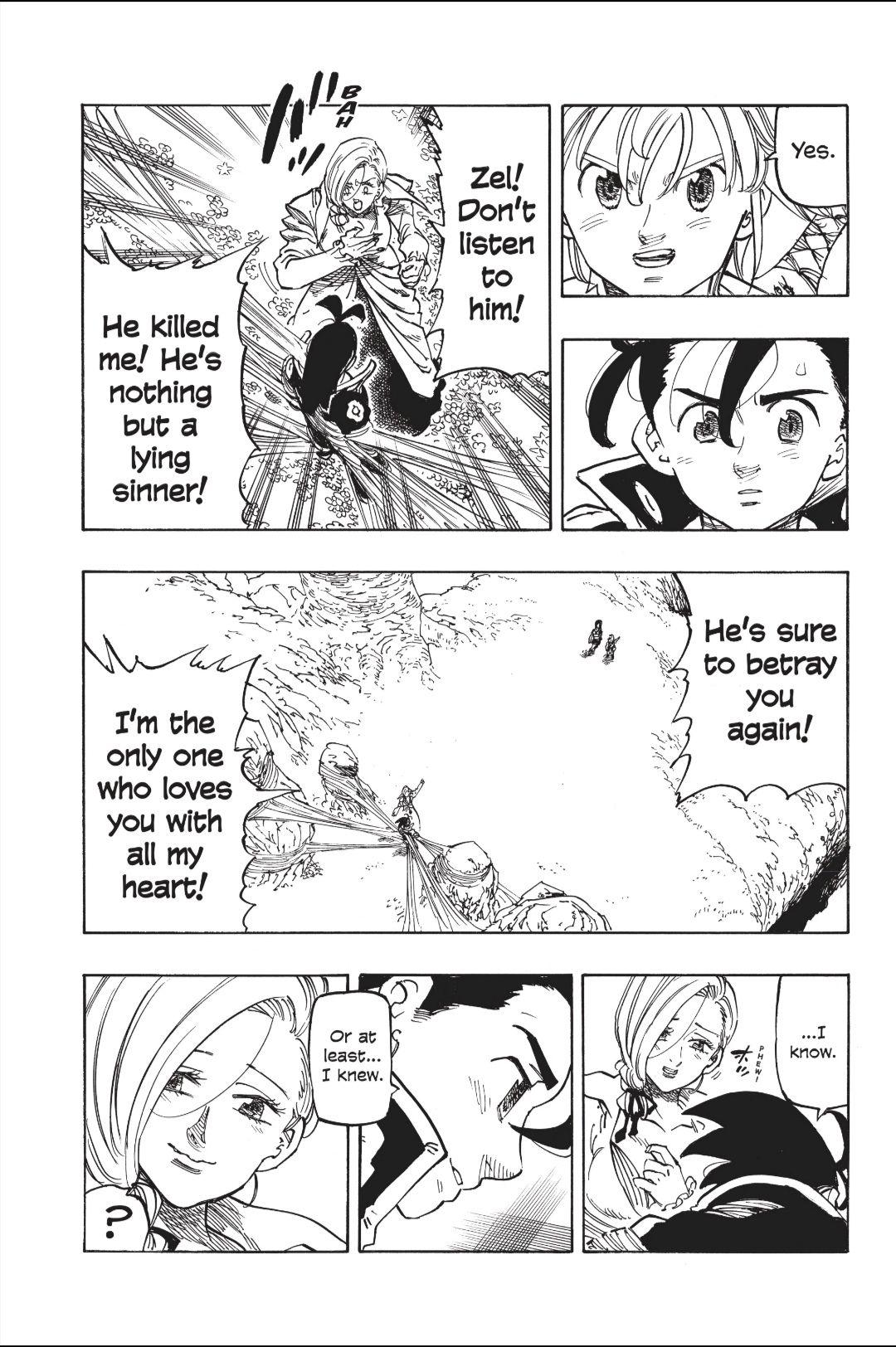 Nanatsu no Taizai Chapter 323 Chapter, Seven deadly sins
