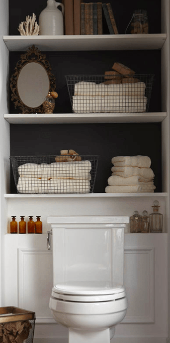 Photo of Is Your Small Bathroom Cluttered? Expert DIYer Shares 30 Best Bathroom Organization Hacks