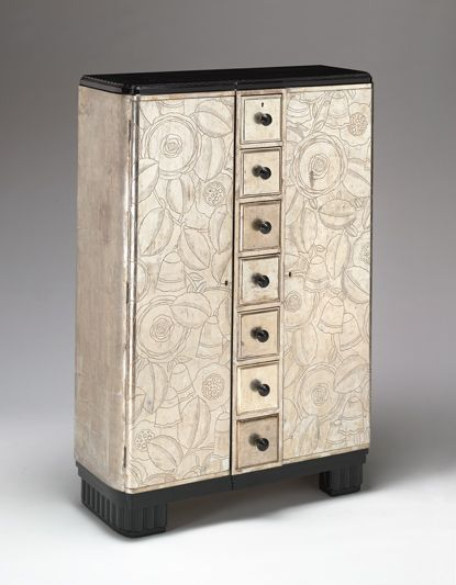 SergeChermayeff dresser 1932 Wow, I wonder if a piece could be painted like this or maybe decoupaged/wallpapered
