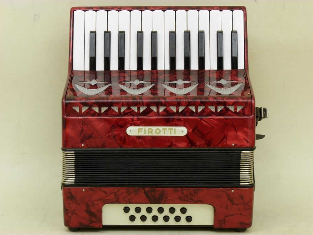 PIANO ACCORDION BLUE OR RED KIDS MUSIC SQUEEZEBOX  STARTER INSTRUMENT