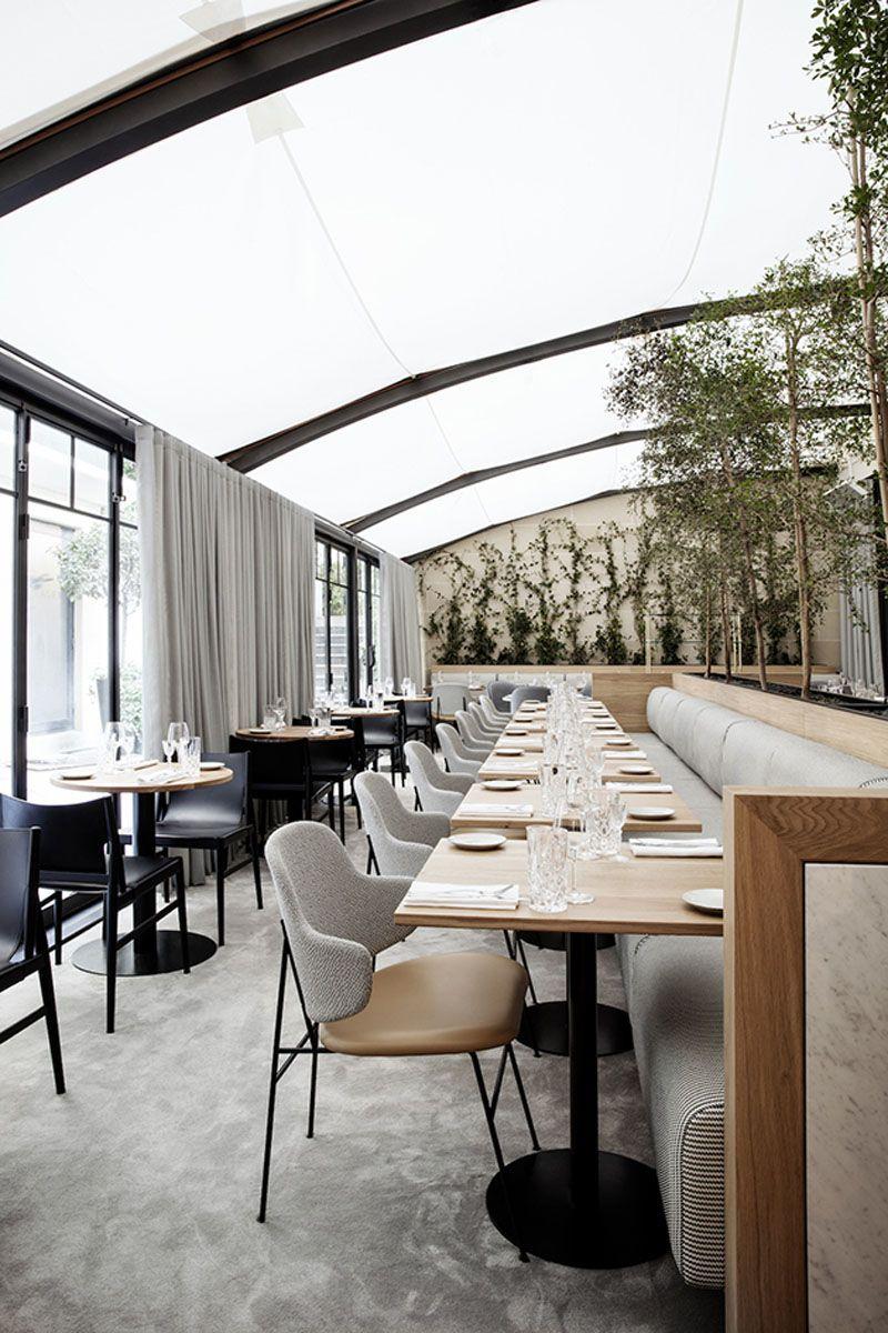 Canopy roof Maison du Denmarku0027s Restaurant