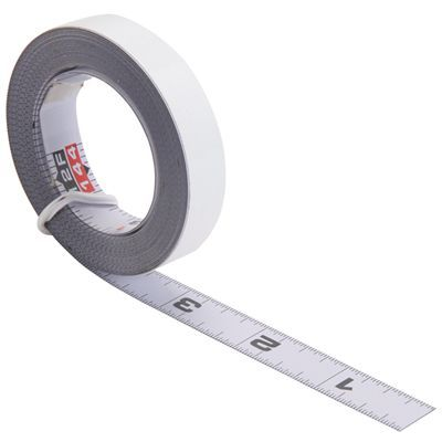 Kreg Self Adhesive Measuring Tape R L Reading 12 Router Woodworking Woodworking Saws Tape