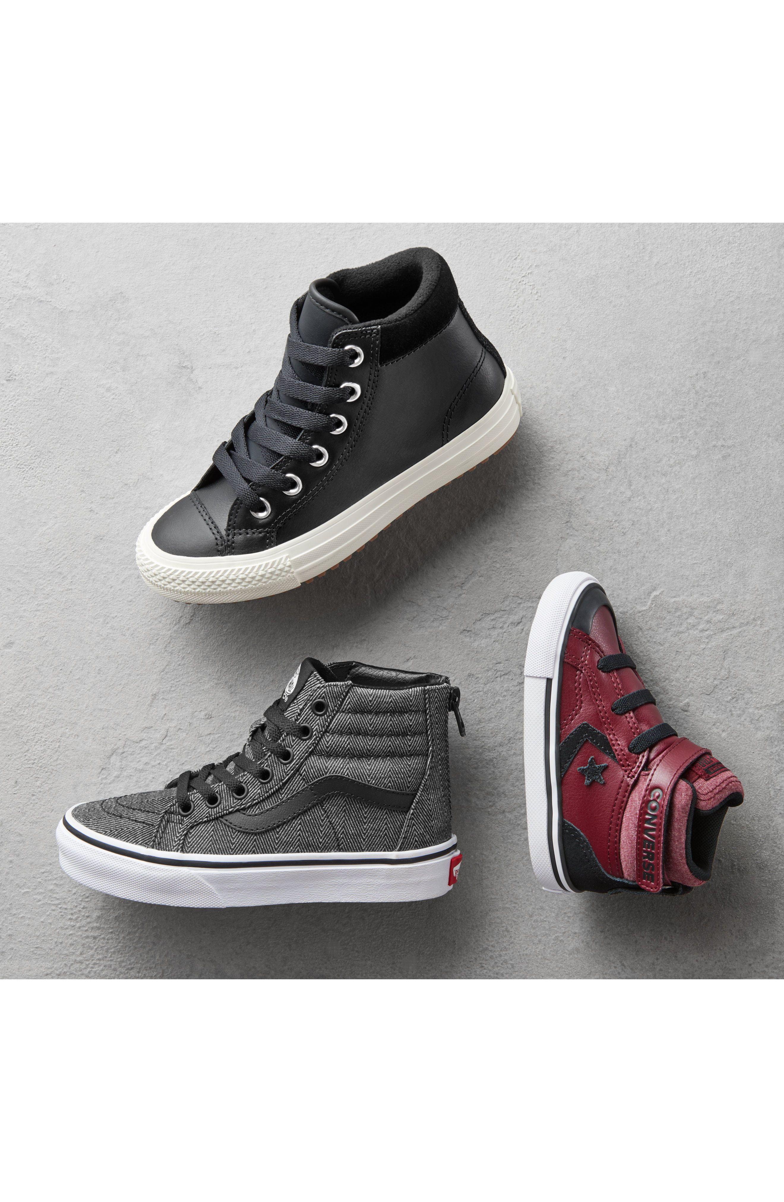 Converse Pro Blaze High Top Sneaker (Baby, Walker, Toddler