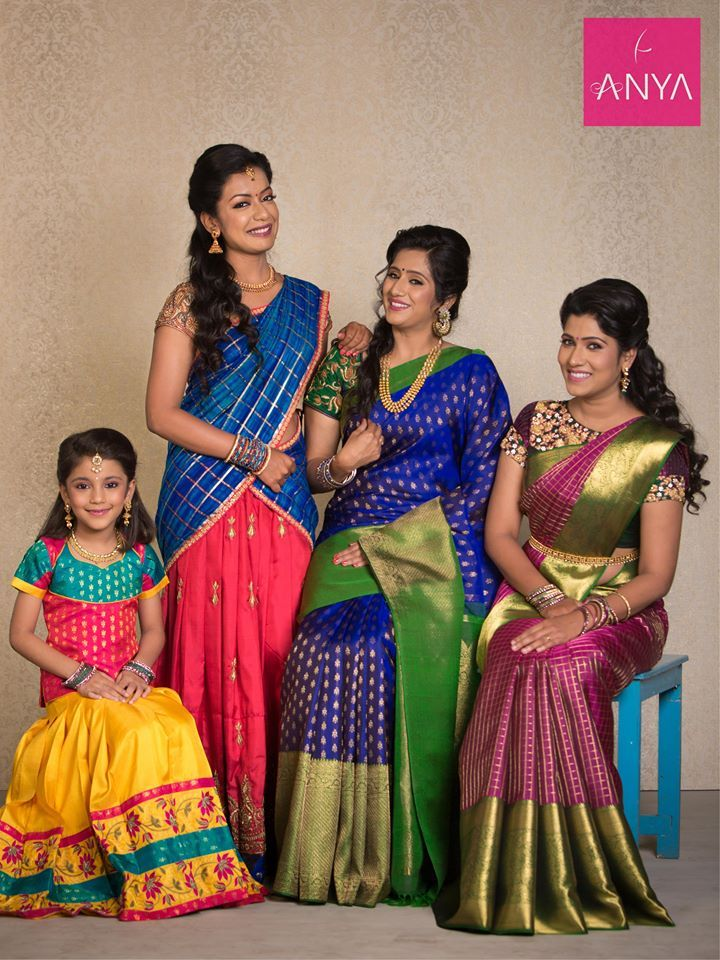 b09e7b52d9 Anya Boutique provides latest diwali collection in Coimbatore.We offers  best collection of Kids pattu pavadai, bridal sarees, wedding sarees,  designer ...