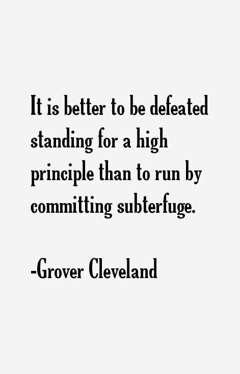 Grover Cleveland Quotes Quotes Grover Cleveland Famous