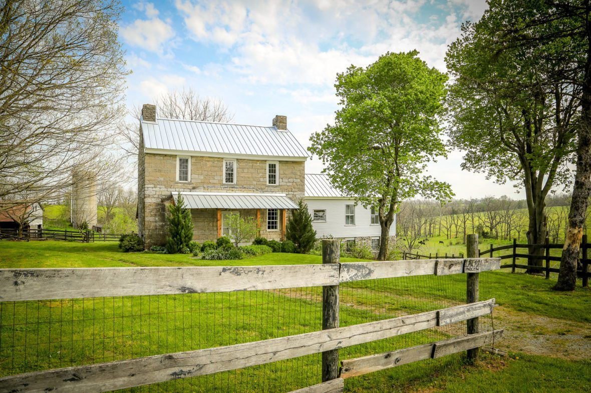 1801 Stone Farmhouse For Sale In Perryville Kentucky Old