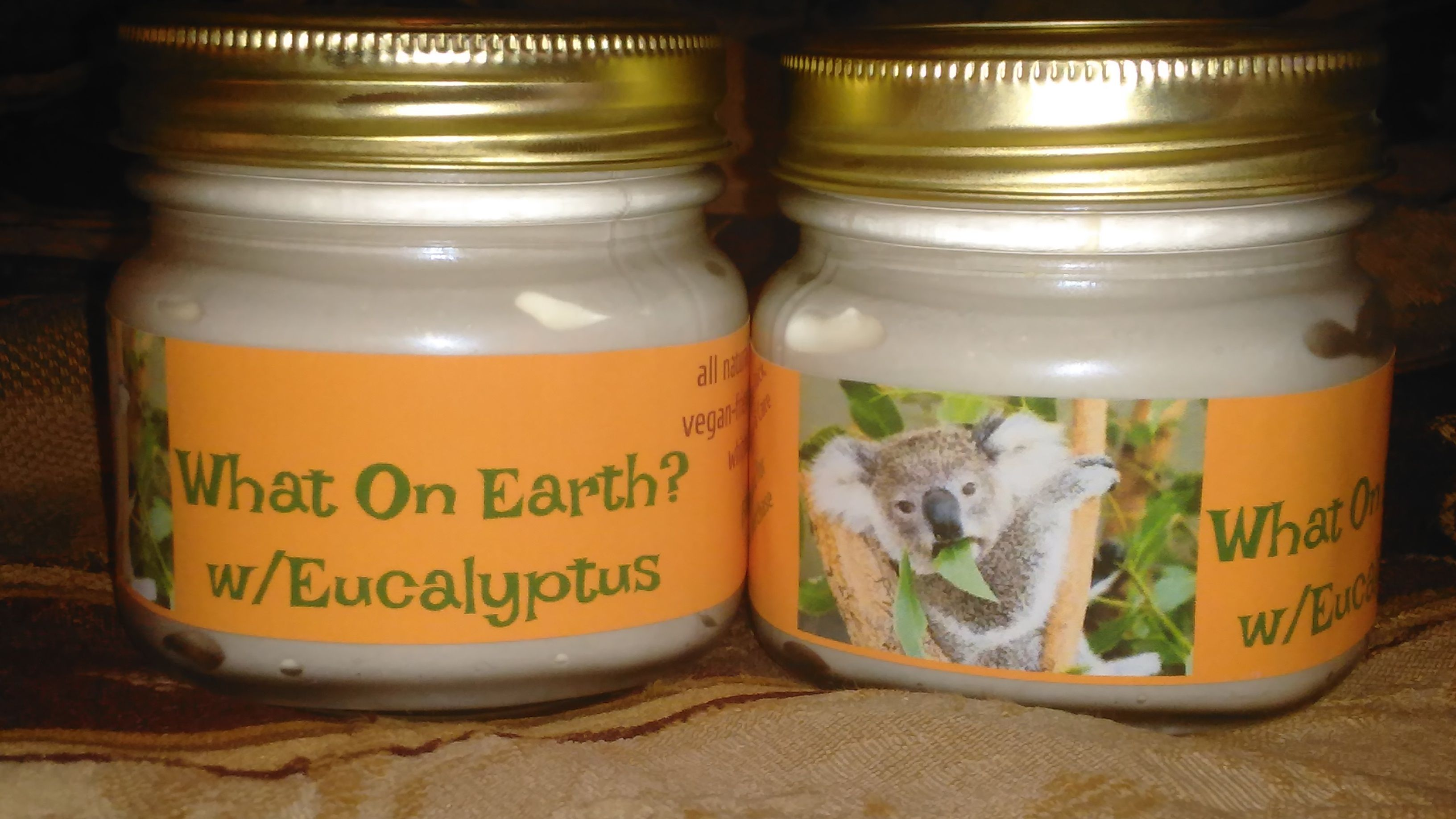 WHAT ON EARTH? Pain Relief Cream w/ Eucalyptus