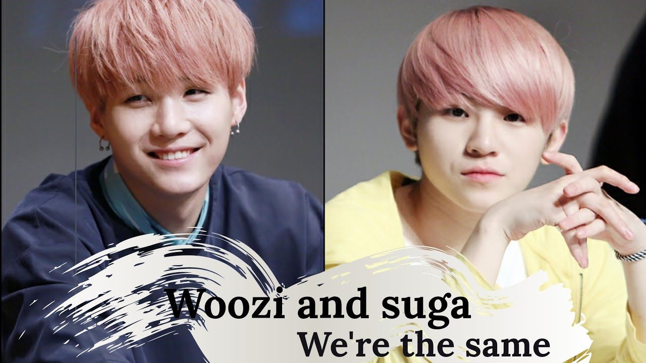 Seventeen Woozi Is Bts Suga S Doppelganger Woozi Seventeen Woozi Suga And Woozi