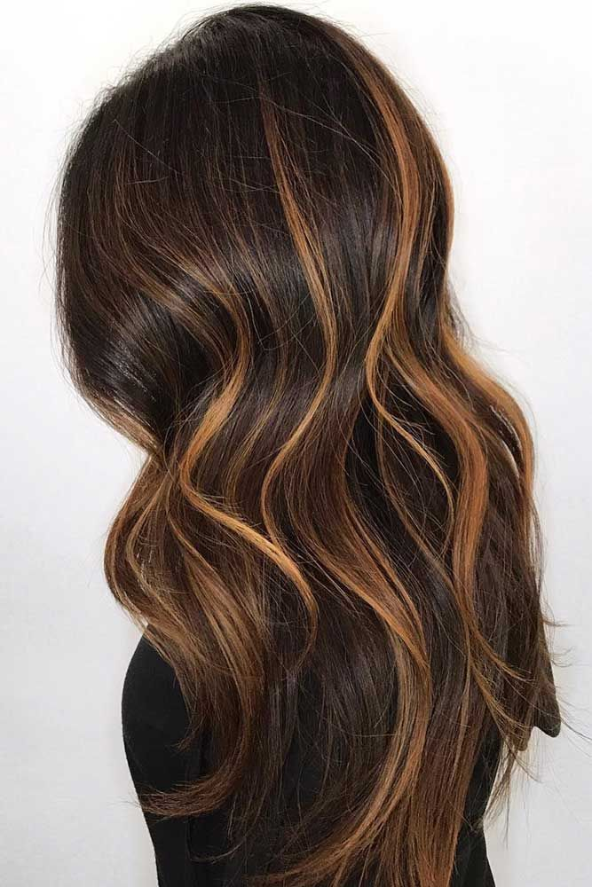 28 Flirty And Effortless Ways To Rock Golden Brown Hair