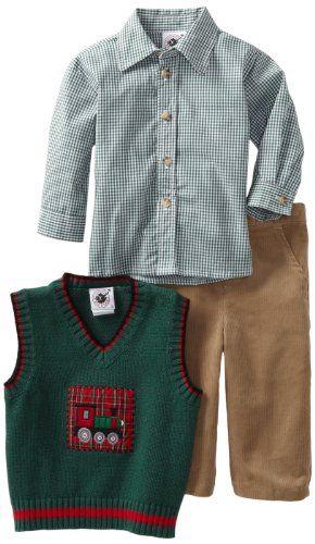 Good Lad Baby Boys Infant Sweater Vest Set List Price