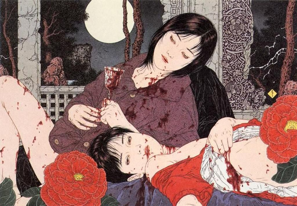 GORE anime more brutal, bizarre and disgusting-anime Guro