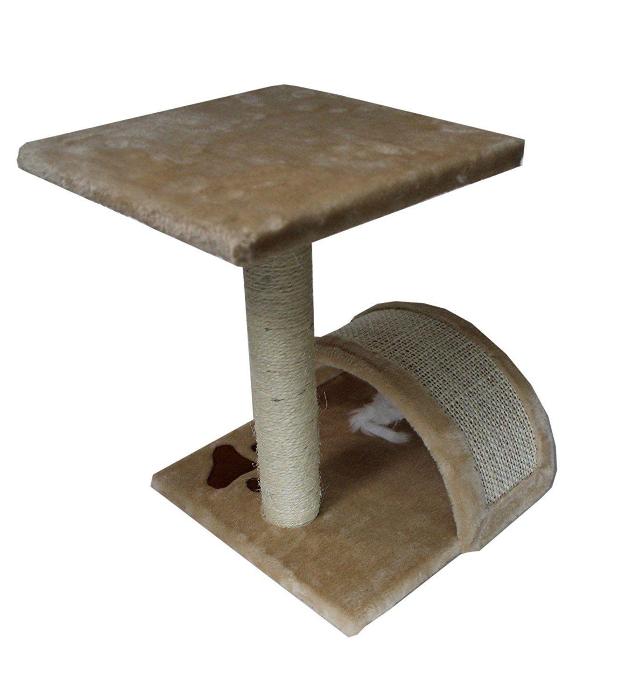 15 hiding cat tree small sisal scratching post furniture playhouse rh pinterest com
