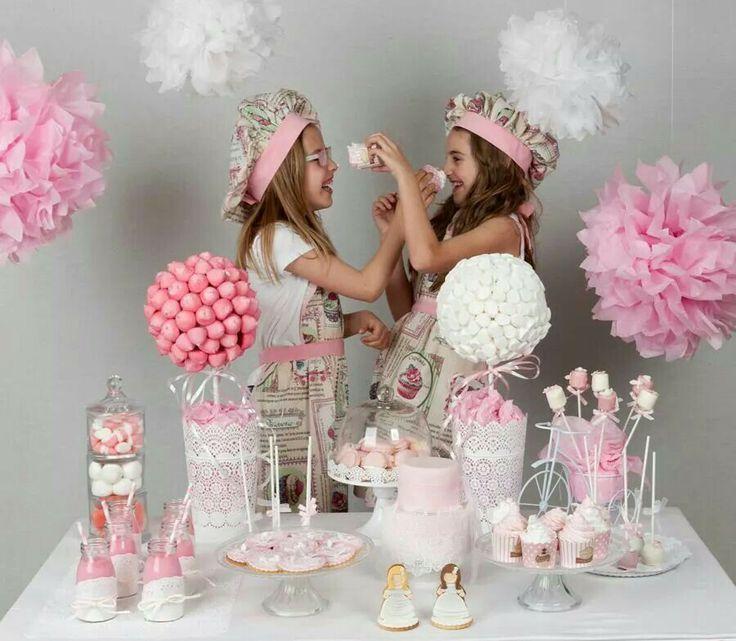 Mesas dulces para comuniones en almer a mes n acacia - Decoracion almeria ...