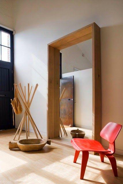 Loft de dise o contempor neo decorar tu casa es for Ideas para decorar marcos de puertas