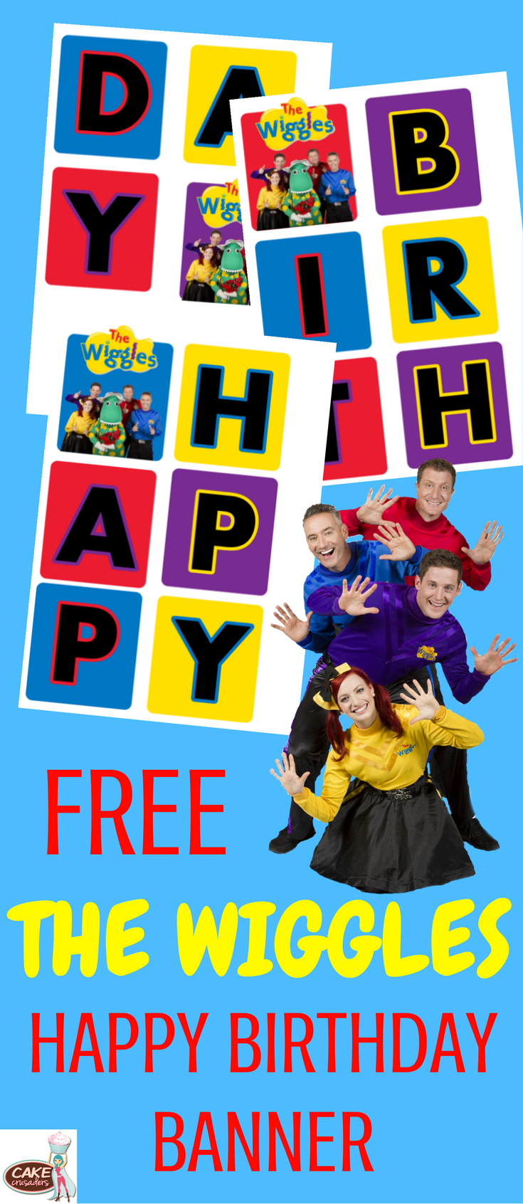 The Wiggles Happy Birthday Banner The Wiggles Birthday Party