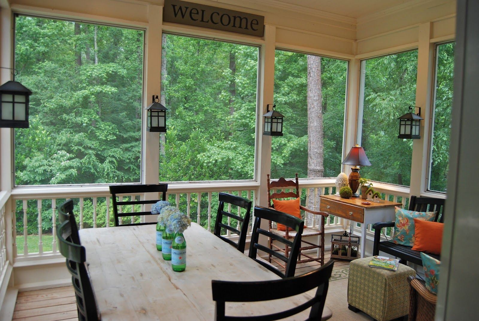 Houses Best Screened In Front Porch Pictures