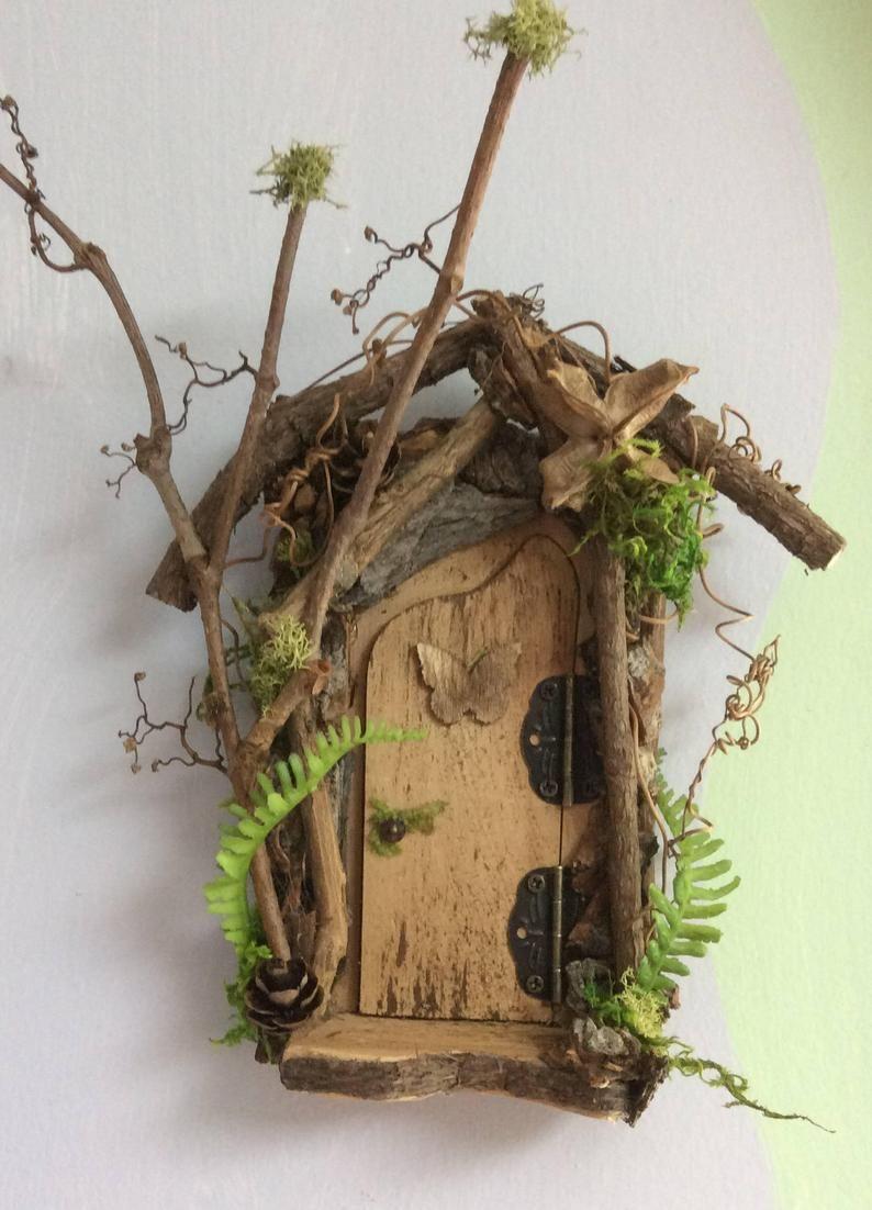 image 1 Fairy garden diy, Fairy garden, Fairy doors