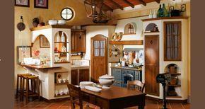 Credenza Piccola Per Cucina : Cucina rustica con credenza angolo idee per la casa pinterest
