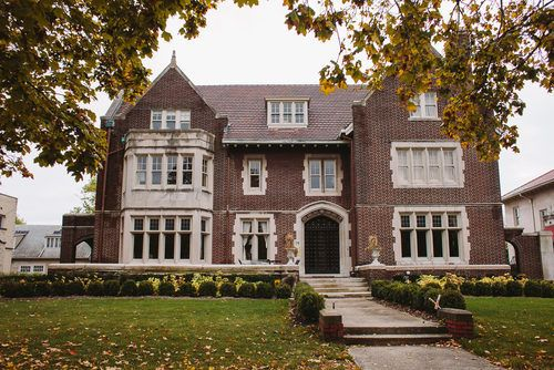 FORMER KRESGE HOME IN BOSTON EDISON HISTORIC DISTRICT DETROIT MI
