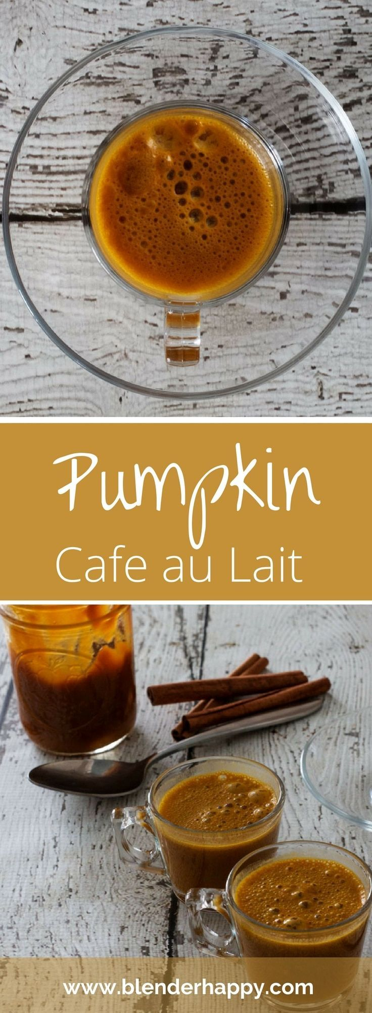 Pumpkin Cafe au Lait Recipe Easy peasy recipes