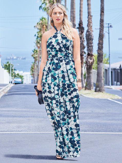 Halter Maxi Dress (Plus Size) 06/2016 #132