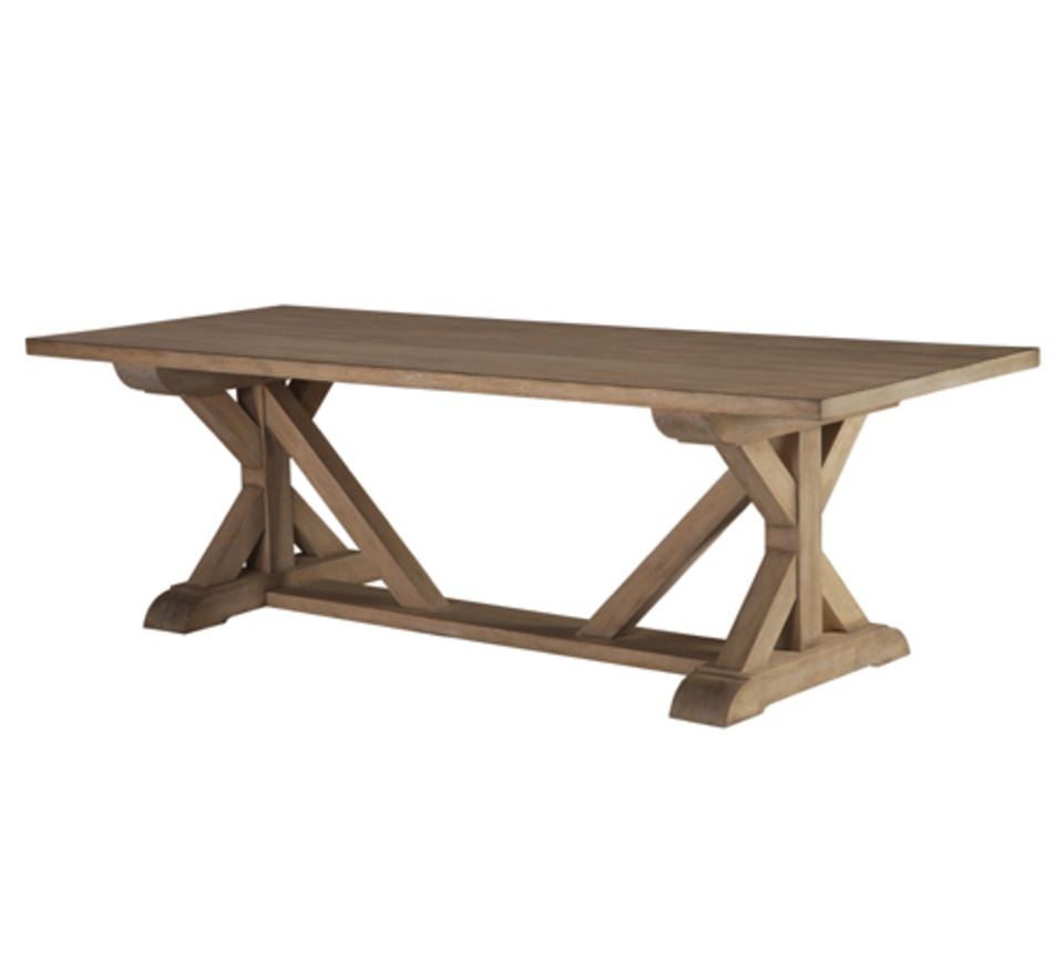 Dering Hall - Buy Severn Trestle Table - Tables - Furniture