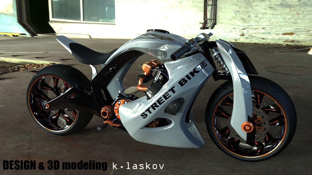 Artstation Street Bike 1000cc Konstantin Laskov With Images