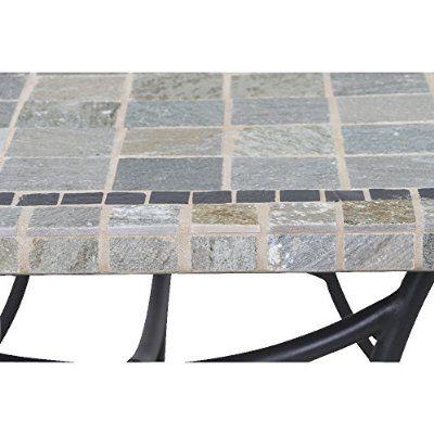 Siena Garden 120087 Tisch Valona 150x90cm Stahl Gestell Anthrazit