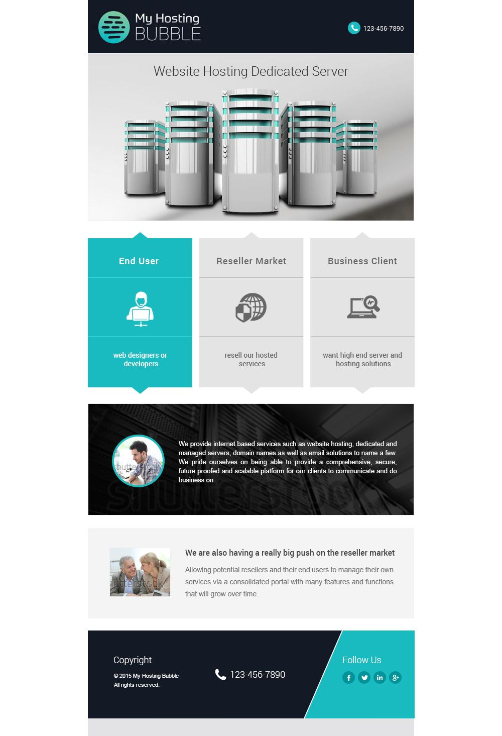 Creative Flat Email Template Marketing Design Best Templates