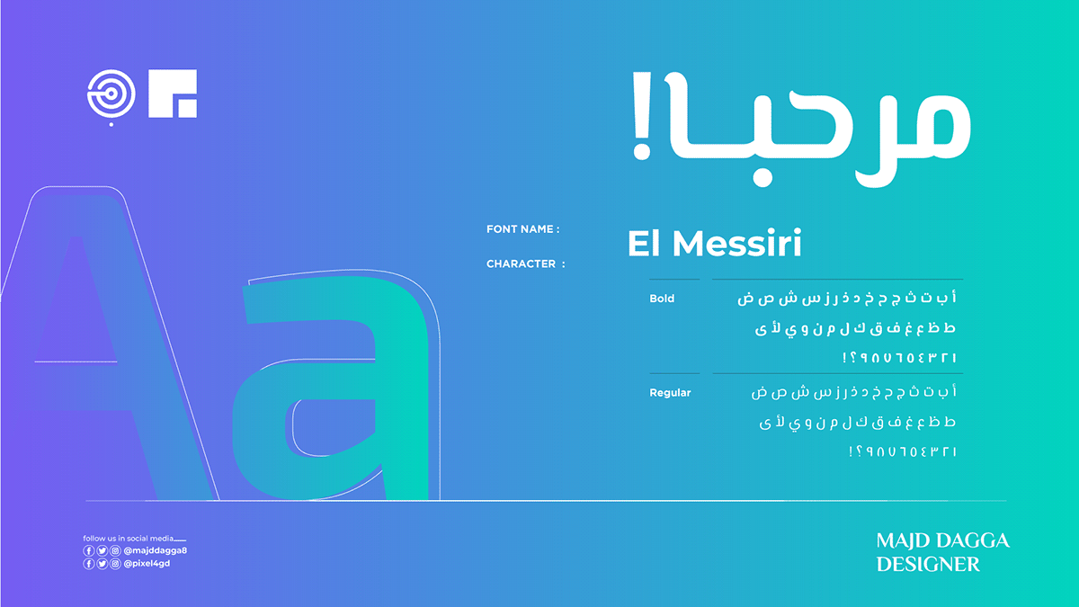 Top 80 Arabic Fonts Free Download On Behance In 2020 Arabic Font Arabic Font Download Free Fonts Download