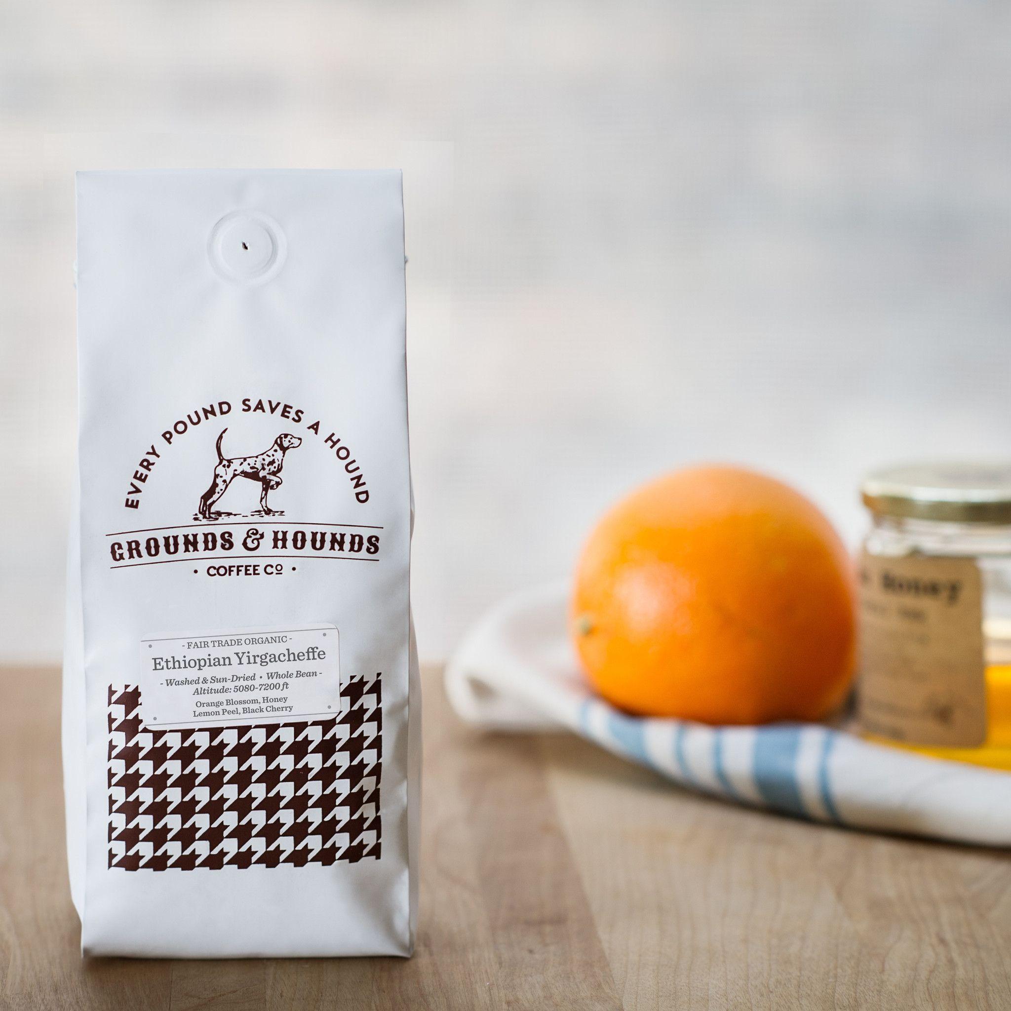 Single Origin Ethiopian Yirgacheffe Fair trade coffee