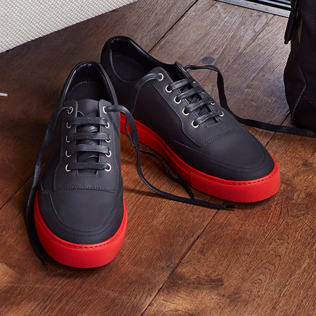 pretty nice 19d03 839ce Harrys of London | Mr Jones Tech Black with Red Soles | HOL ...