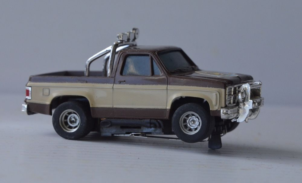 The Fall Guy Chevy Gmc Pickup Truck Afx Magna Traction Slot Car