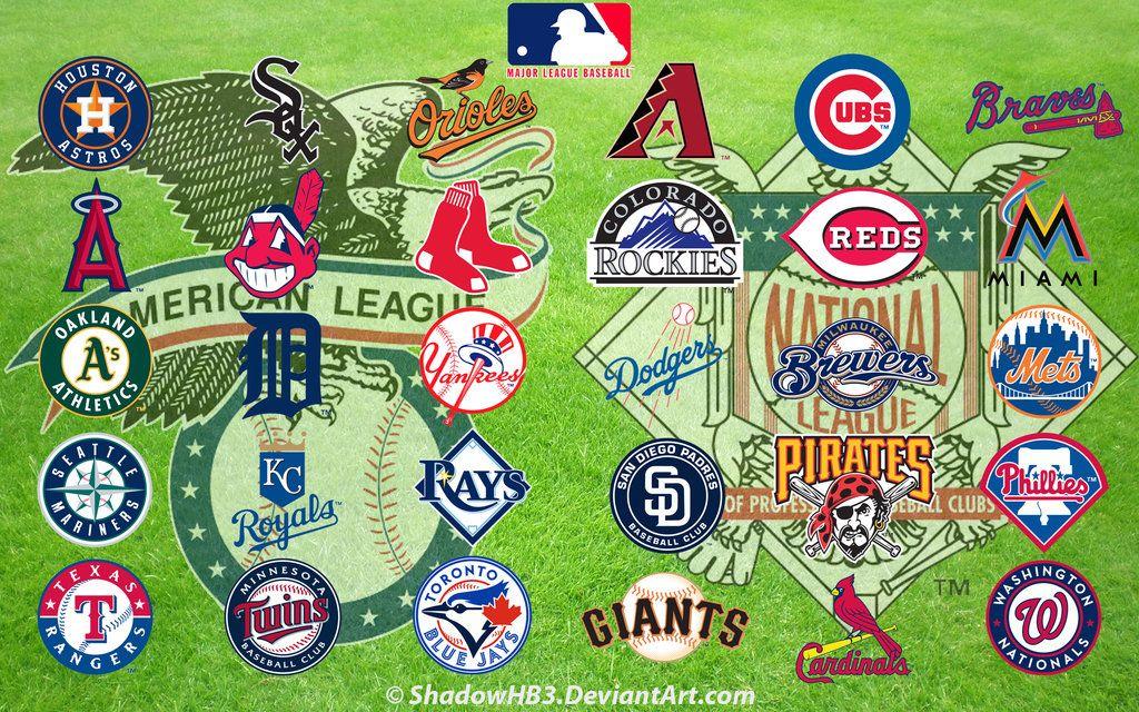 Major League Baseball Mlb Logos Mlb Baseball Mlb Logos Major League Baseball