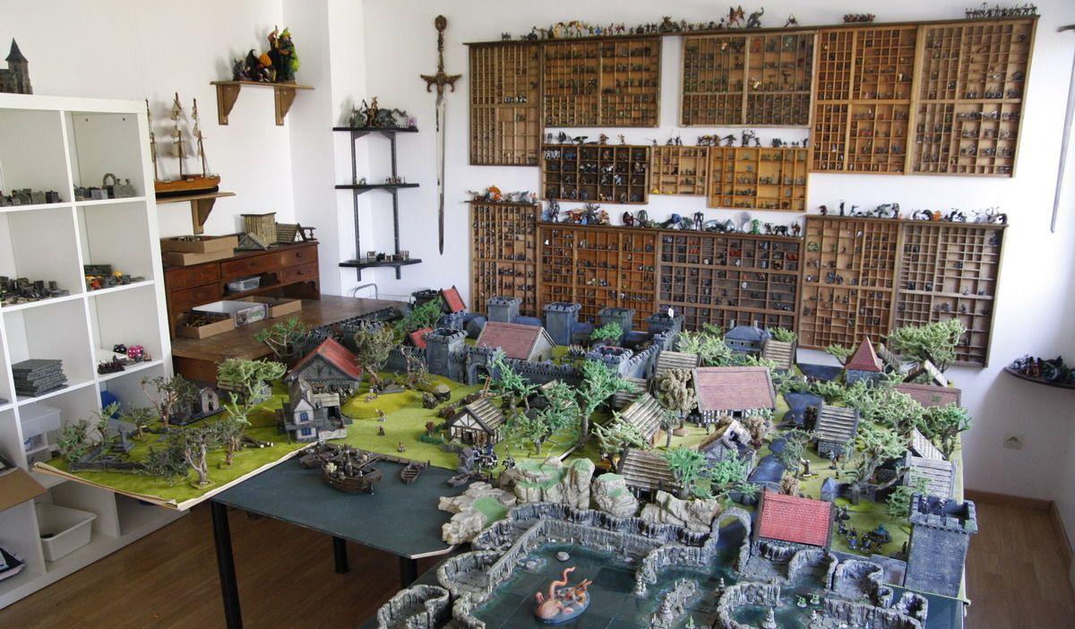 origami salle de jeu vue d 39 ensemble des d cors spectaculaires pour des heures de jeu en. Black Bedroom Furniture Sets. Home Design Ideas