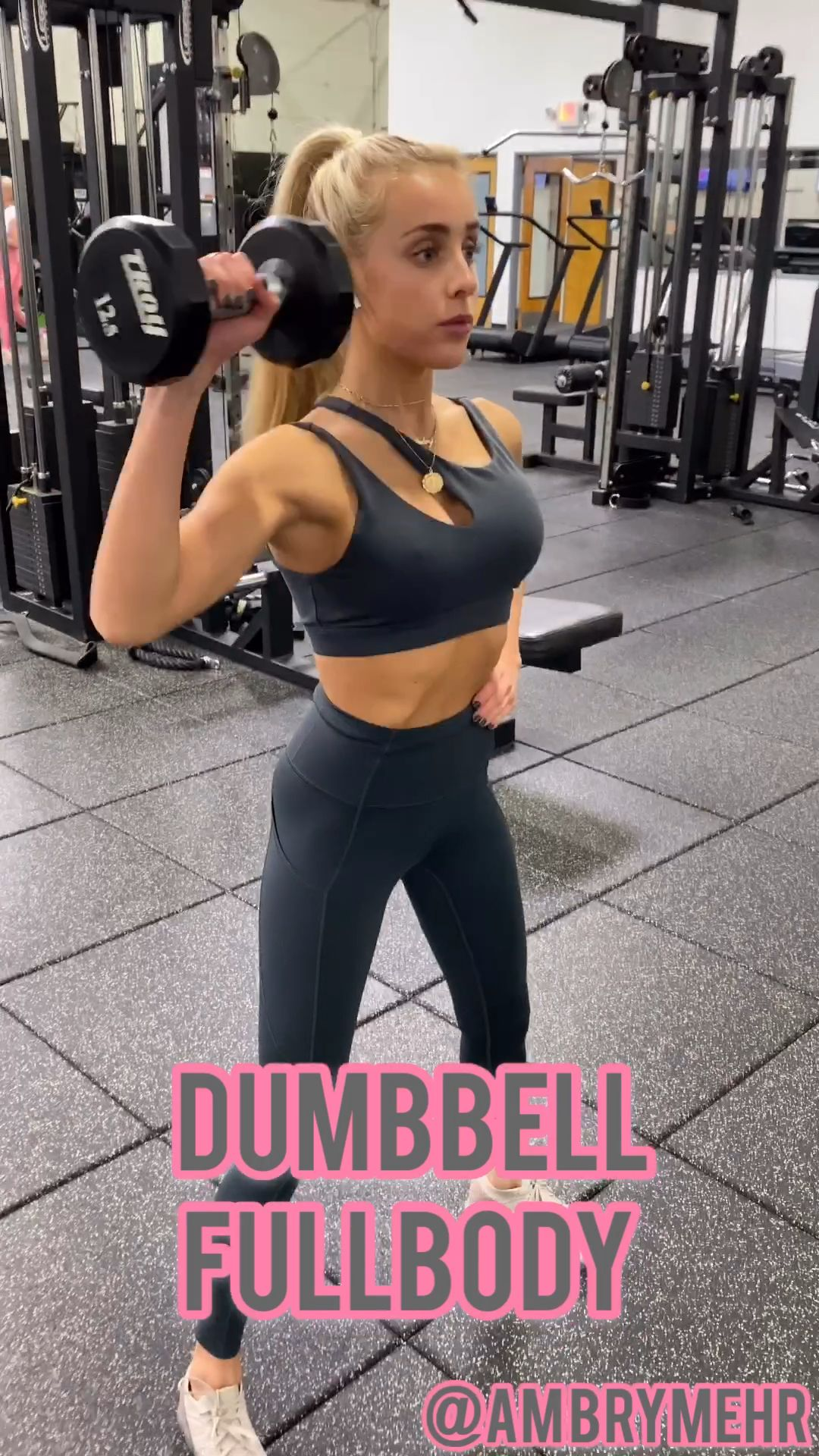 Full Body Workout - Follow @ambrymehr IG for free workouts!