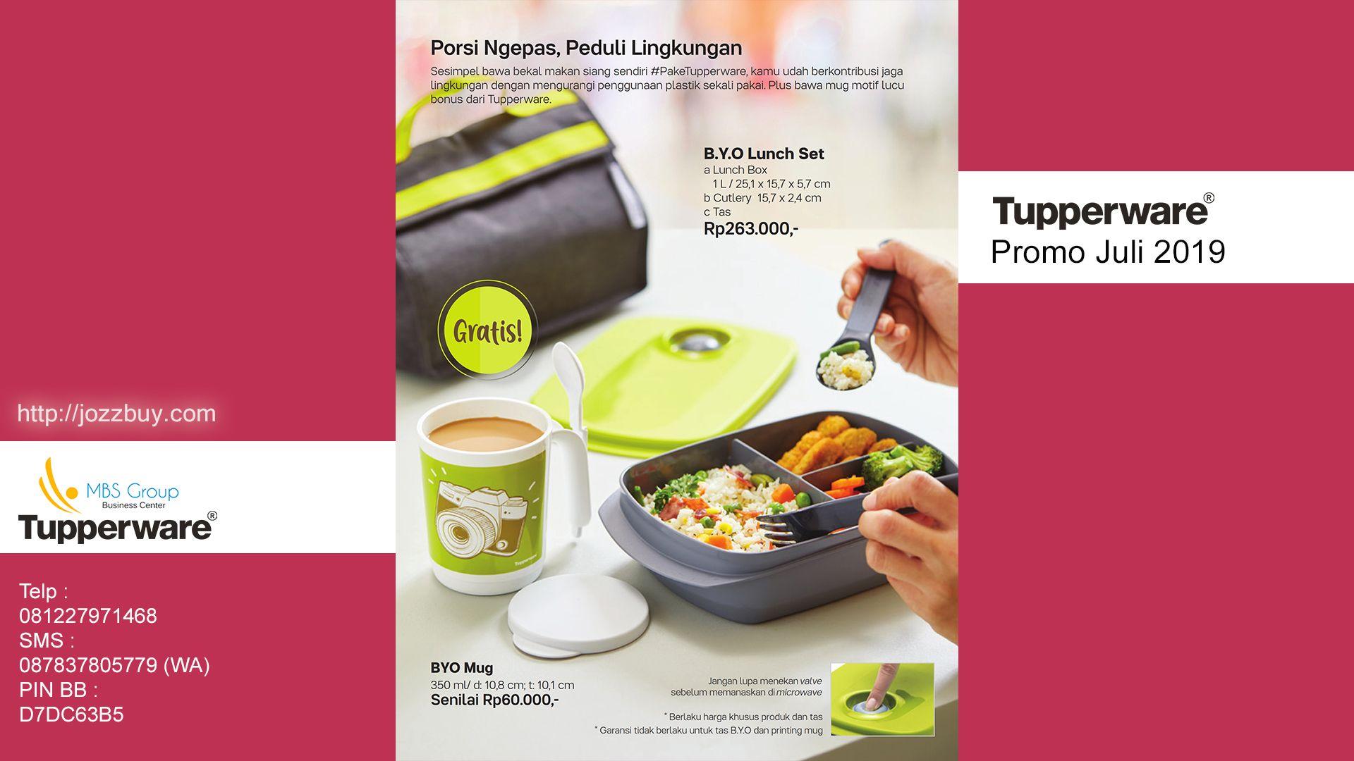 Harga Tupperware Promo Juli 2019