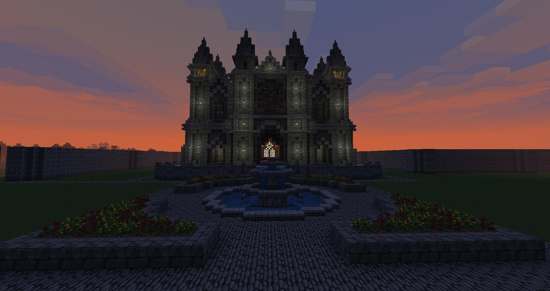 Minecraft Haunted House Geek