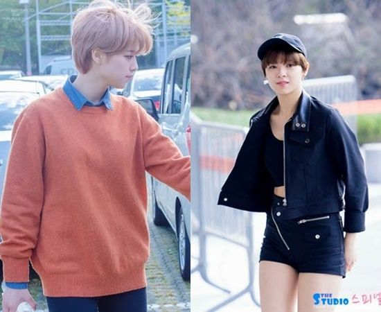 7 K Pop Idol Girls Who Slay The Boyish Fashion Outfits Kpopmap Boyish Style Korean Fashion Kpop Inspired Outfits Boyish Outfits
