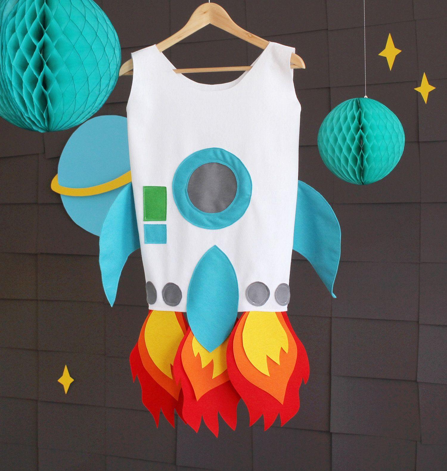 Costume de fusée: instructions de couture gratuites et patron de couture   – Fasching