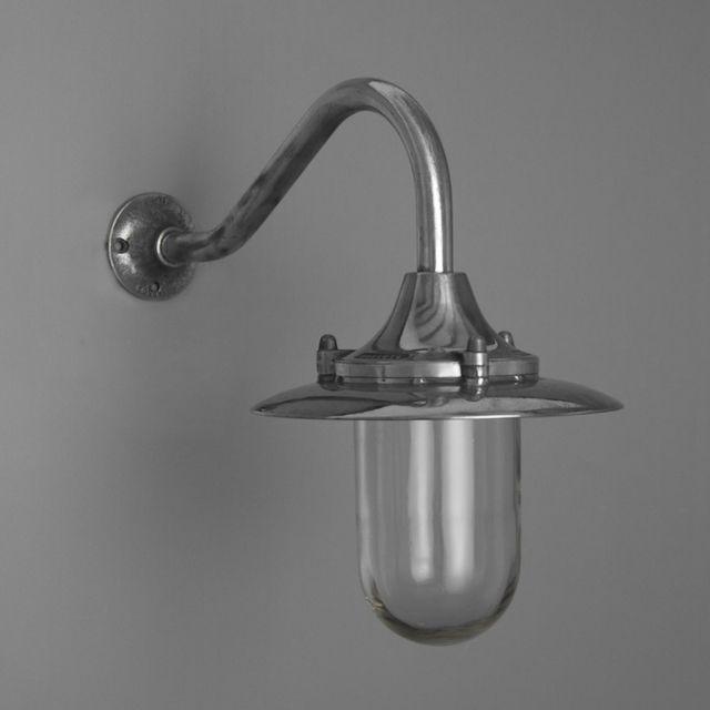 Kitchen Lighting Glasgow: Vintage Aluminium Swan Neck Light