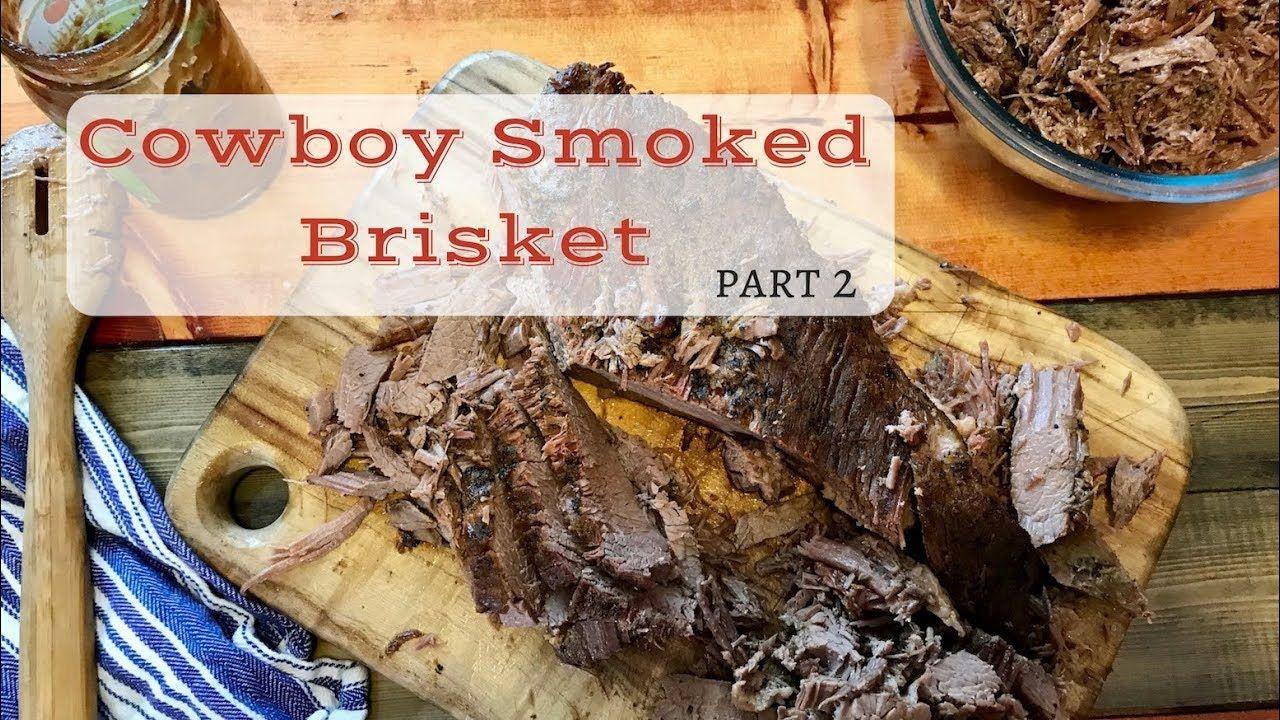 Cowboy Smoked Brisket Røget bryst, bedst sælgende  Smoked brisket, Best selling