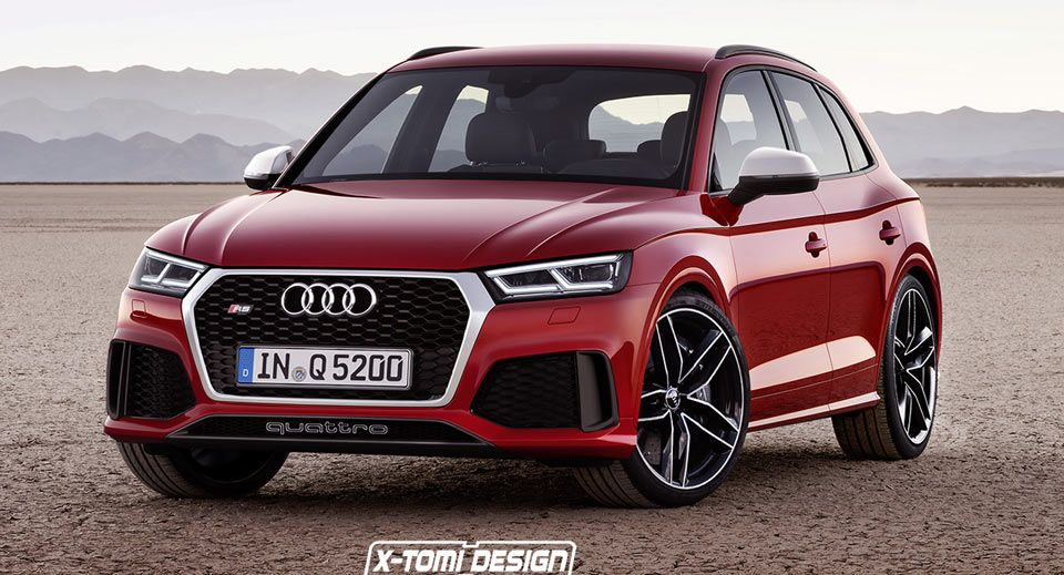Audi RS Q5 Reportedly Coming With New RS5 Coupeu0027s 450 PS Engine