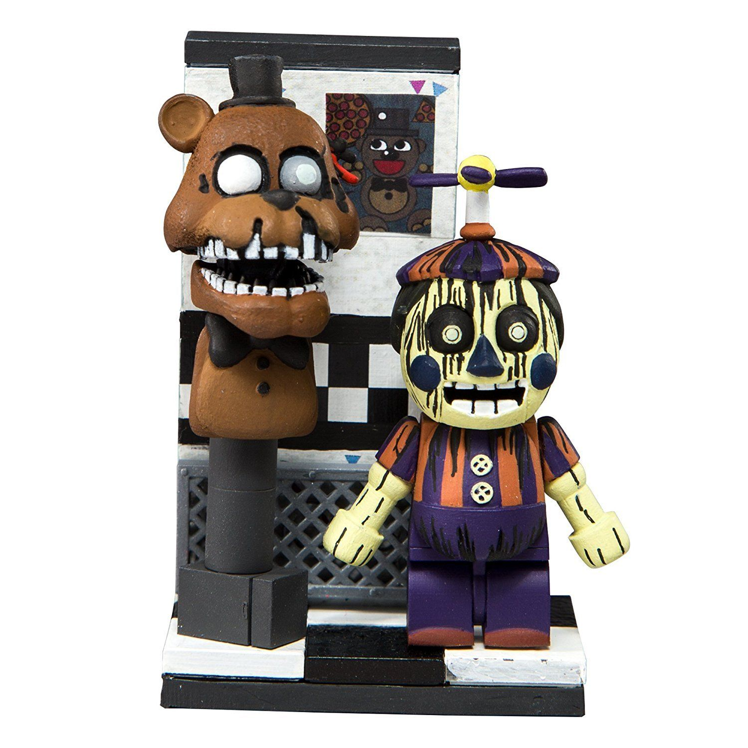 Five Nights At Freddy S Office Hallway Phantom Balloon Boy Micro