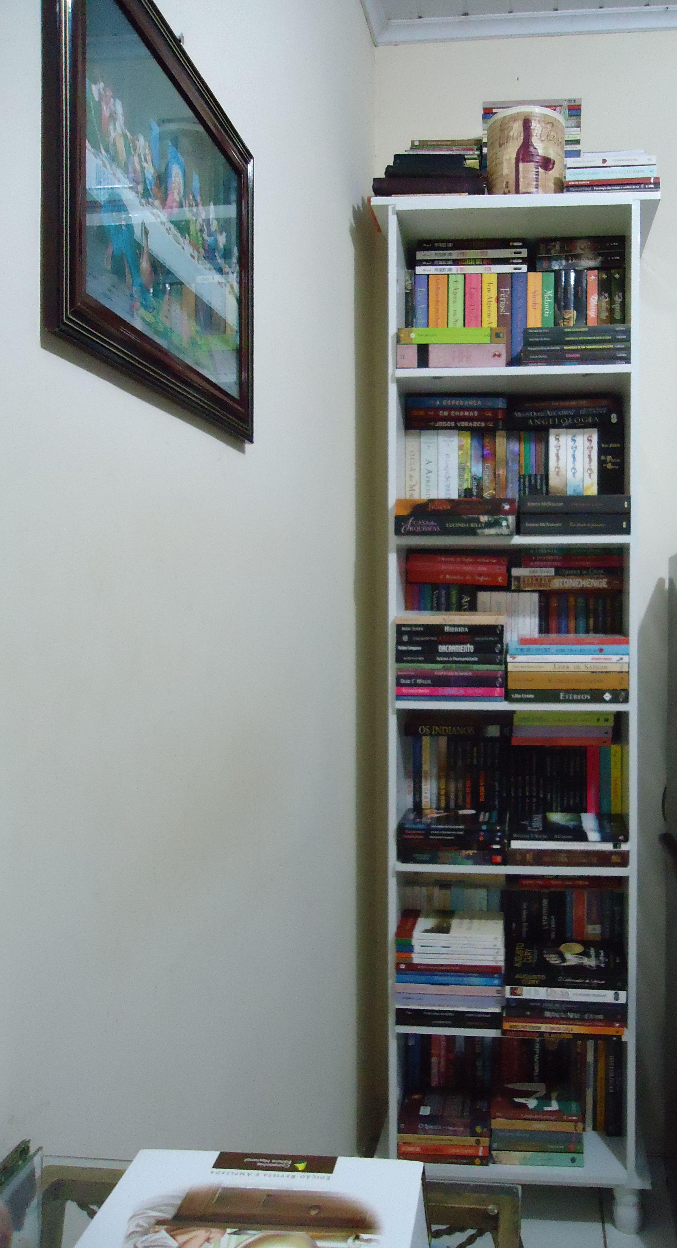 Minha Estante Com Imagens Estante Livros