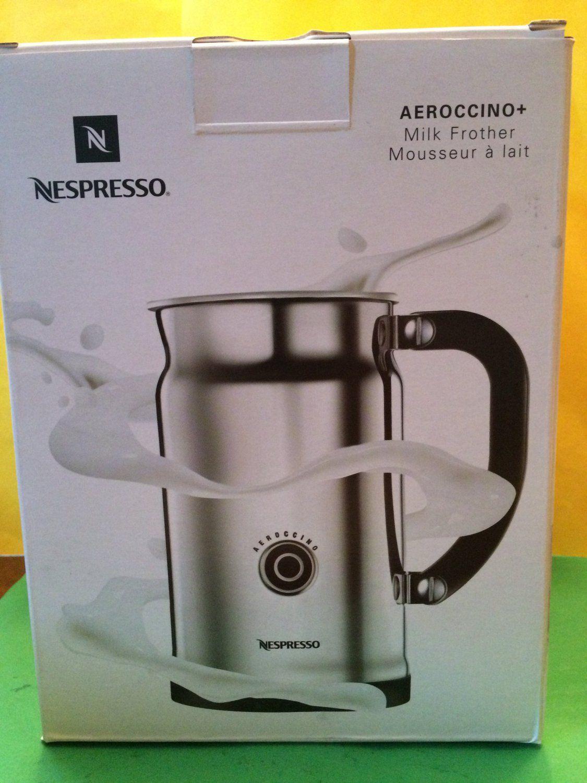Nespresso Retail 99 1 New in Box Nespresso Aeroccino